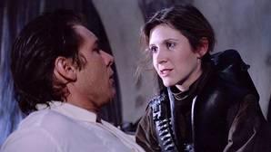 El romance real entre Han Solo y Leia durante el rodaje de «Star Wars»
