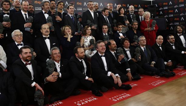 Todos los ganadores de los Goya en la pasada edición