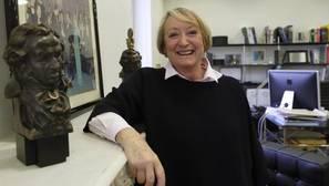 Yvonne Blake, durante una entrevista reciente