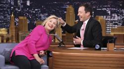 Hillary Cinton, en «The Tonight Show»