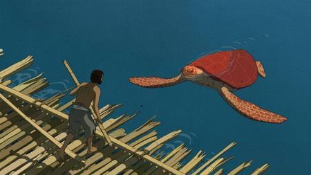 «La tortuga roja»