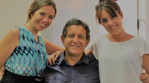 De izq. a dcha: Eva Gamallo, Pedro Casablanc y Tania Gongar