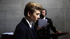 Barron Trump, hijo de Donald Trump