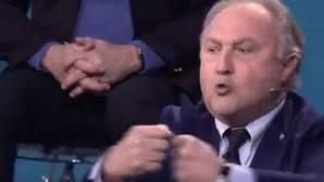El padre de Elettra Lamborghini estalla y le da un manotazo a su mujer en GH VIP