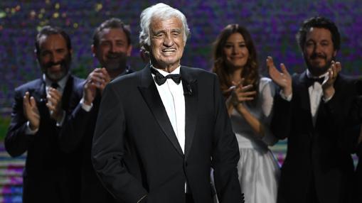 Jean-Paul Belmondo recibió la mayor ovación