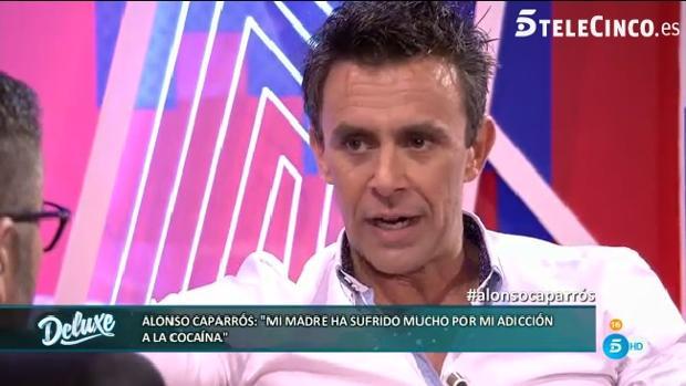 Alonso Caparrós confesó su adicción a la cocaína en «Sálvame Deluxe»
