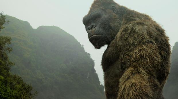 Kong, el rey de los gorilas, es también el rey de la Isla Calavera
