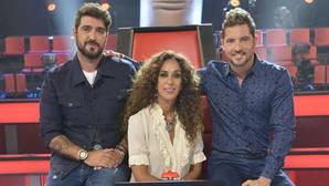 Antonio Orozco, Rosario Flores y David Bisbal, los tres coaches de 'La Voz'
