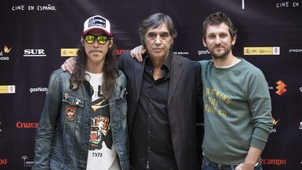 De izquierda a derecha: Jaenada, Díaz Yanes y Aréval0