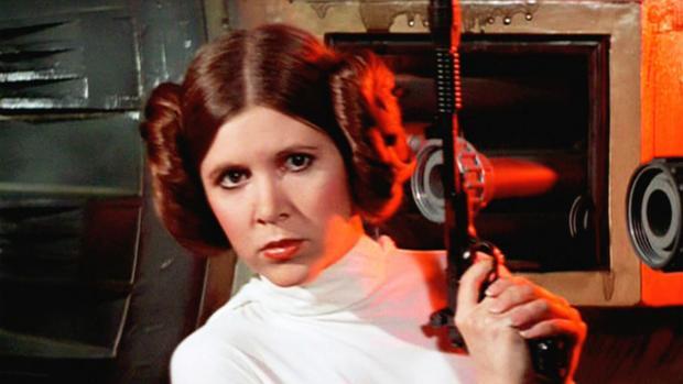 Carrie Fisher interpretará, por última vez, en el Episodio VIII a la princesa Leia
