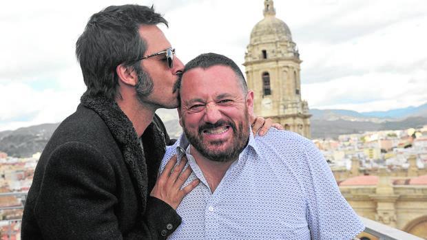 Hugo Silva y Pepón Nieto