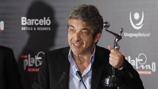 Ricardo Darín ganó el premio Platino a mejor actor en la pasada edición