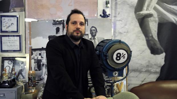 Carlos Vermut, en el Ocho y medio de Madrid este viernes