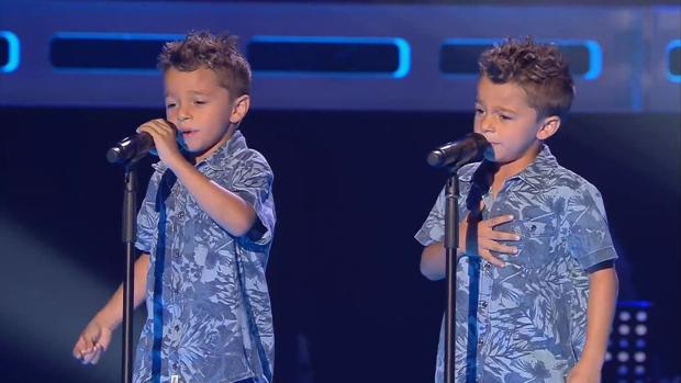 Los gemelos de «La Voz Kids», sanos y salvos