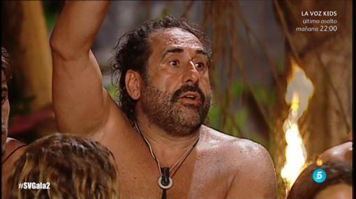 Juan Miguel llevó un chisquero a la isla.
