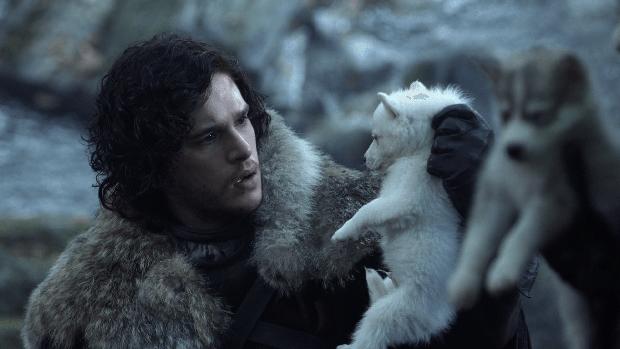 Jon Snow, durante la primera temporada