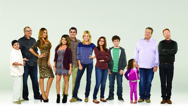 El reparto de Modern Family