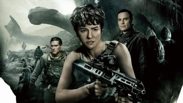 Imagen promocional de «Alien: Covenant»