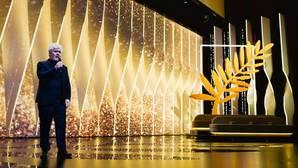 Pedro Almodóvar, durante la gala de presentación del Festival de Cannes