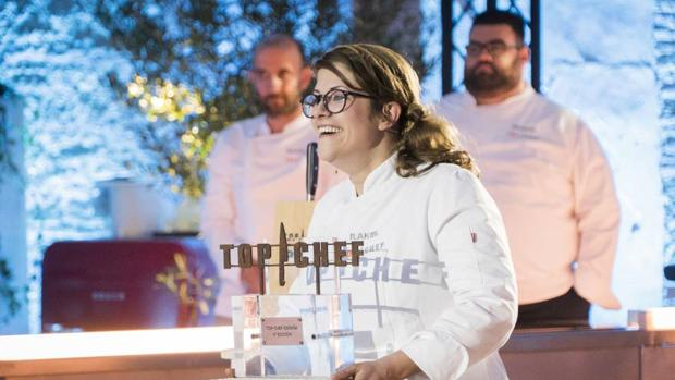 Rakel en «Top Chef»