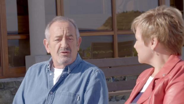 Arguiñano, durante su conversación con la periodista Gloria Serra
