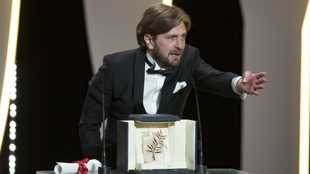 Ruben Östlund tras ganar la Palma de Oro con «The Square»