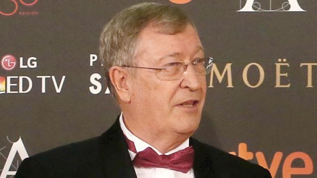 Porfirio Enríquez, exdirector general de la Academia de Cine, en la gala de los Premios Goya de 2016