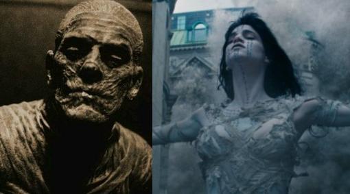 La momia de Karloff Vs. la de Sofia Boutella