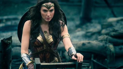 Gal Gadot, en una escena del Wonder Woman