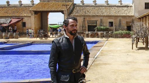 Paco León interpreta a Zúñiga, un personaje secundario de «La peste»