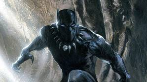 Dibujo de Black Panther de Marvel