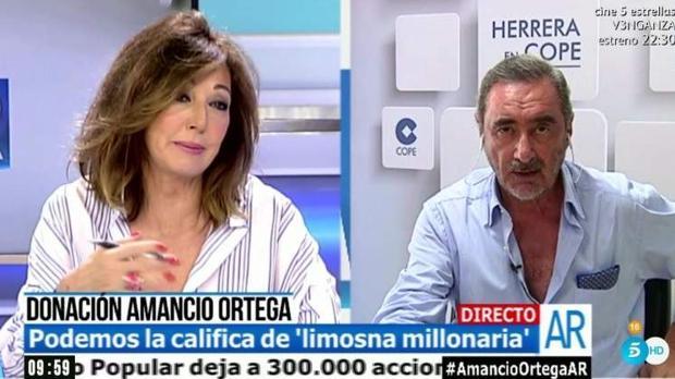 Carlos Herrera: «Las máquinas de Amancio Ortega han detectado con facilidad a los gilipollas»