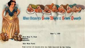 La carta de 1938 en la que Disney rechaza a una mujer porque «el trabajo es para hombres»