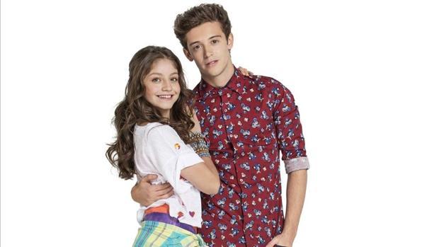 Matteo y Luna, protagonistas de «Soy Luna»