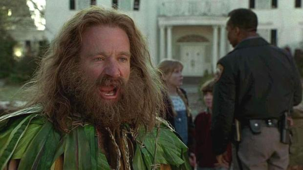 Robin Williams interpretó a Alan Parrish en «Jumanji»