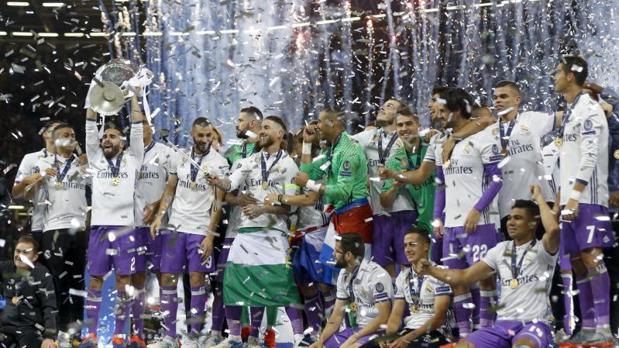 El Real Madrid se alzó con la última Champions