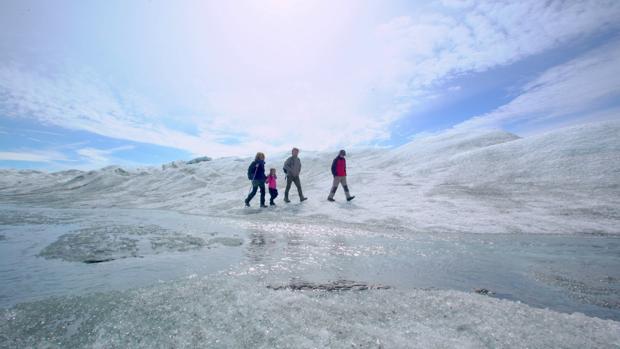 Meritxell, Amaia, Andoni y Unai son los protagonistas de «Espíritu Salvaje»