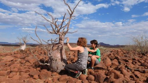 Namibia es el primer destino de la familia protagonista del nuevo programa de Cuatro