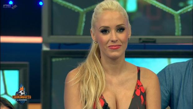 Laura Gadea en el último programa de «El chiquinguito de jugones»