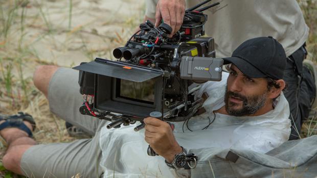 Collet-Serra durante el rodaje de su última película