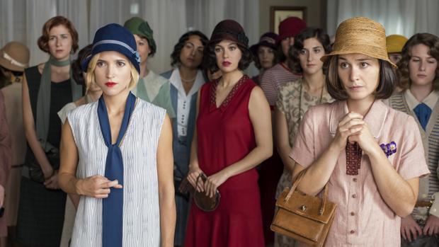«Las chicas del cable» es la primera serie original española de Netflix