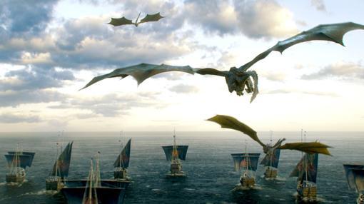 La flota de Daenerys se dirige a Poniente