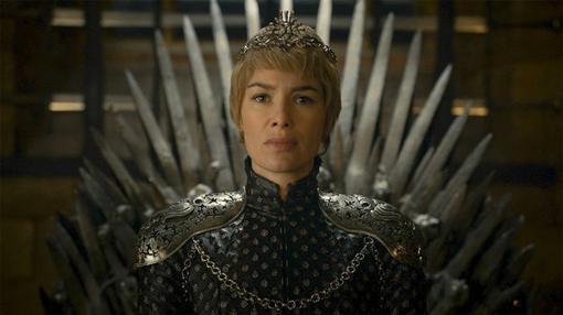 Muertos sus hijos, Cersei Lannister se proclama reina