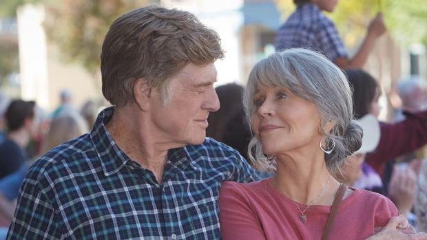 Jane Fonda y Robert Redford en «Our souls at night», de Netflix