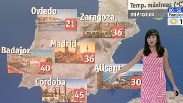Imagen del mapa informativo de «El Tiempo»