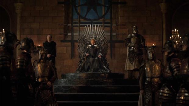 Cersei Lannister ha sido la última en sentarse en el Trono de Hierro
