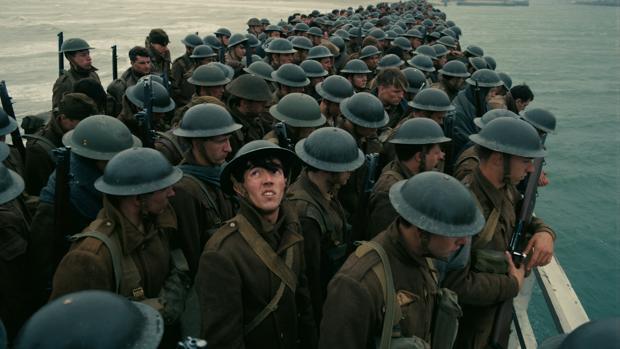 Una de las escenas de «Dunkerque»
