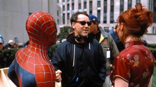 Sam Raimi, durante el rodaje de «Spider-man 3»