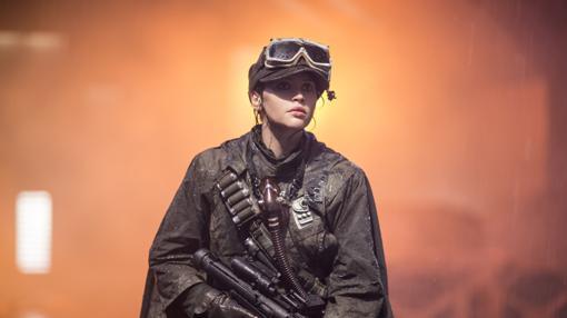 Felicity Jones en «Rogue One: A Star Wars Story»