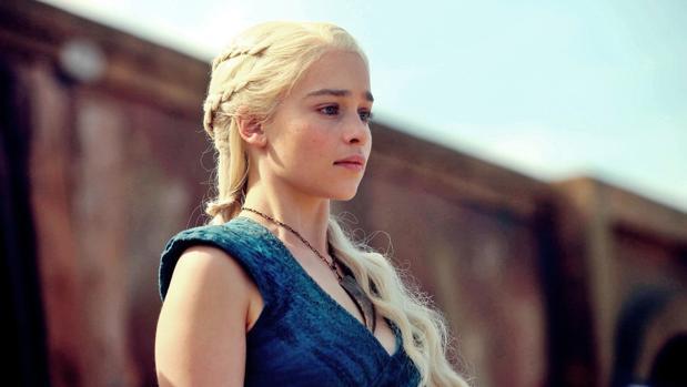 Danerys Targaryen, una de las protagonistas de «Juego de Tronos»